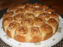 Zimtrollenkuchen - Rezept