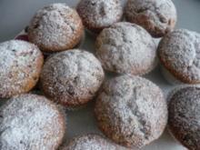 Mandel-Schokoladen-Muffin - Rezept