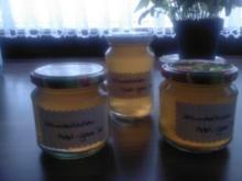 Holunderblüten-Apfel Gelee - Rezept