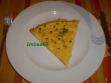 Zwiebelkuchen mit Zitronenthymian - Rezept