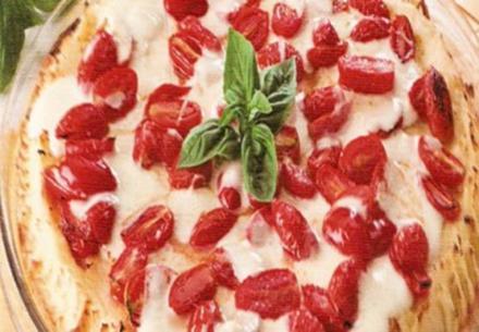 erster gang kartoffelpùreepizza - Rezept
