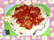 Erdbeer-Pavlova mit Vanillequark - Rezept