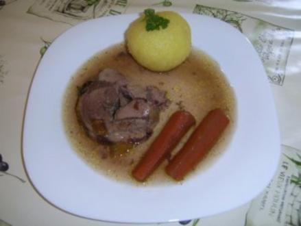 Paprika-Kräuterrollbraten - Rezept