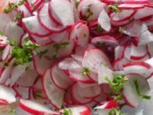 Einfacher Radieschensalat - Rezept