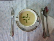 Spargel-Kartoffeln-Cremesüppchen - Rezept