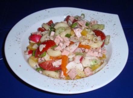Erfrischender Nudel-Salat - Rezept