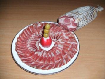 Rezept: Wursten: Coppa