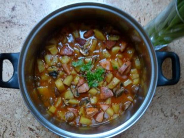 Fleischwursttopf - Rezept