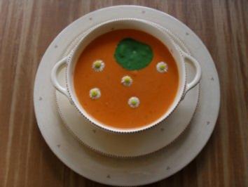Tomatencremesuppe - Rezept
