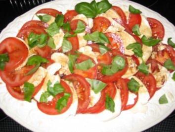 Rezept: Tomate-Mozarella-Platte