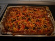 Roggen-Vollkorn Pizza Grundrezept - Rezept