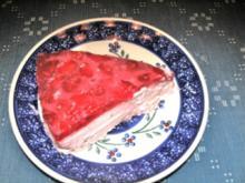 Italienische Erdbeercremetorte - Rezept