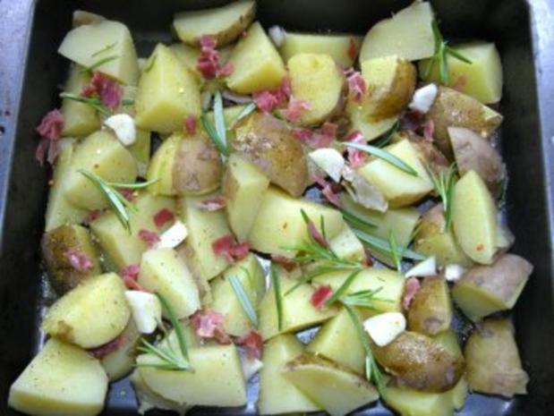 Schnelle Rosmarinkartoffeln - Rezept