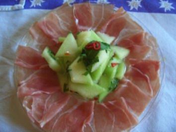 feurige Melone Teil 1 - Rezept