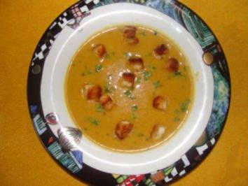 Suppe : -Meine Kartoffelsuppe de Luxe- - Rezept