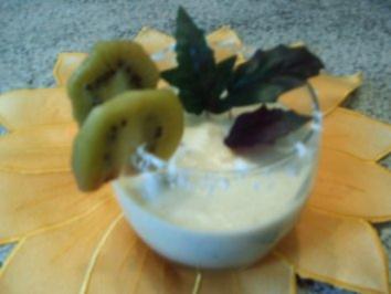 Obst-Pouwer-Drink - Rezept