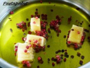 Parmesan-Pfeffer-Öl - Rezept