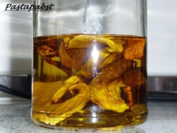 Pilzöl - Rezept