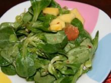 Salat: fruchtiger Mango-Feldsalat - Rezept