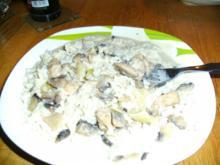 Schnitzel-Champignon Pfanne - Rezept