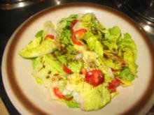 Verschiedenes: Honig-Dressing...Kürbiskernöl...für Blatt-Tomatensalat - Rezept