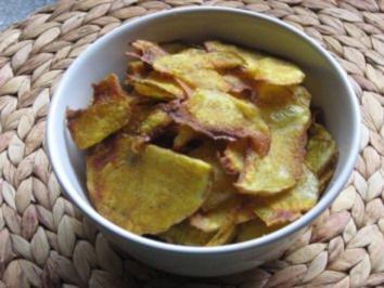 Leichte Knusper-Chips - Rezept