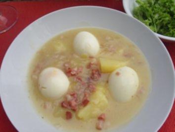 Tellergerichte: Süss-Saure-Eier - Rezept
