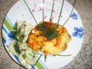 Kartoffelpuffer- Doppeldecker - Rezept