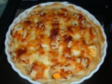 Blätterteig-Pizza - Rezept