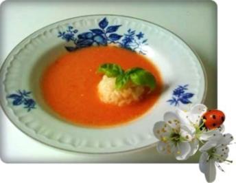 Tomatensuppe mit Reis - Rezept