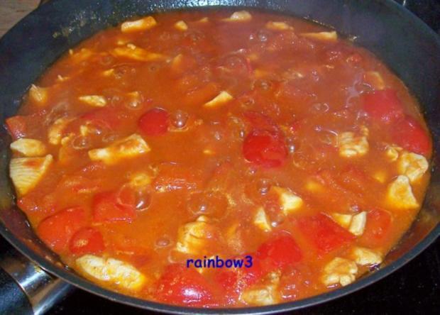 Kochen: Paprikahähnchen mit Letscho - Rezept - Bild Nr. 2