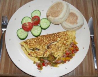 Herzhaftes Omelette - Rezept