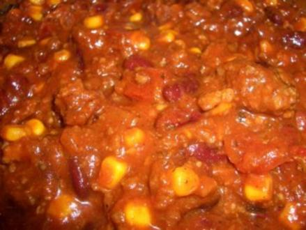 HOT HOT HOT Chili con carne - Rezept