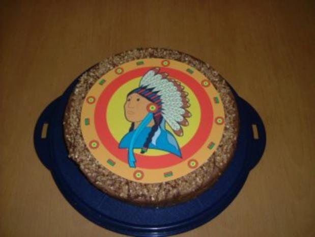 Indianertorte Kindergeburtstag - Rezept