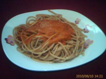 Soße / Sauce: Tomate-Mozarella-Soße - Rezept