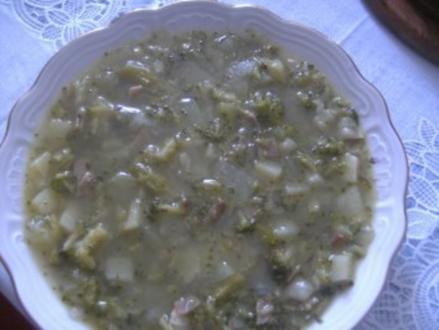 Brokoli-Gemüse-Suppe      rustikal - Rezept