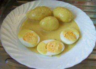 Kochen: Eier in Senfsauce - Rezept