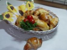 Croissants d'ail - Rezept