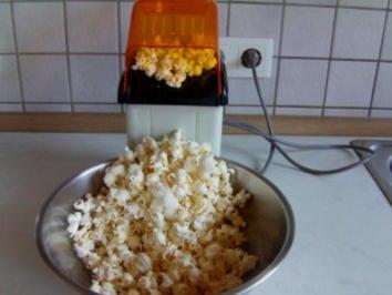 Knoblauch / Basilikum Popcorn - Rezept