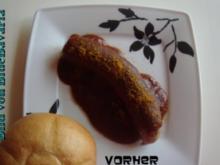Wurstküche: Brigittes Currywurst 2 mit Currysosse - Rezept
