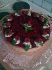 MEINE Himbeer-Schmand-Torte - Rezept