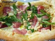 Blätterteigpizza - Rezept
