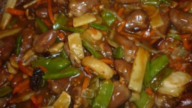 Asiatisches Gemüse-Herz trifft italienische Pasta - Rezept - Bild Nr. 2
