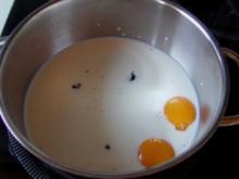 Vanilleeis aus einem 50 er Jahre Schulkochbuch - Rezept