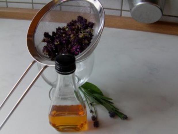 Lavendel-Balsamico-Reduktion - Rezept