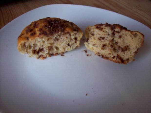 Bananen-Schoko-Muffins - Rezept