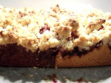 Kirsch-Streuselkuchen - Rezept