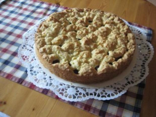 Krümelkuchen mit Heidelbeeren - Rezept - Bild Nr. 2