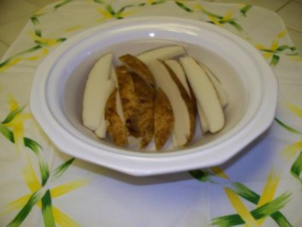 Ofen-Pommes - Rezept