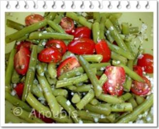 Salat - Bohnen-Tomaten-Salat - Rezept